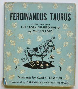 Toro Ferdinando cover originale