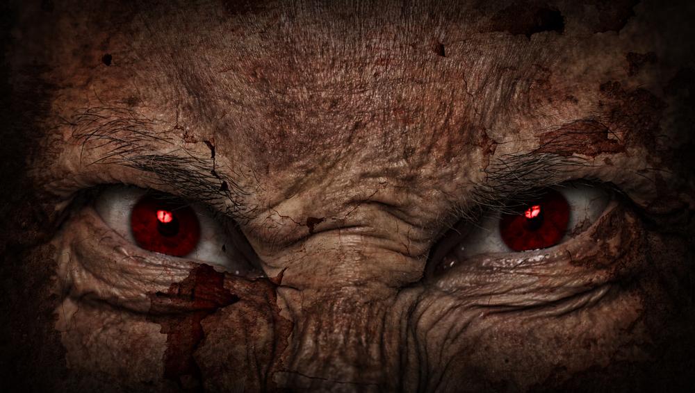 antiCristo e i suoi occhi